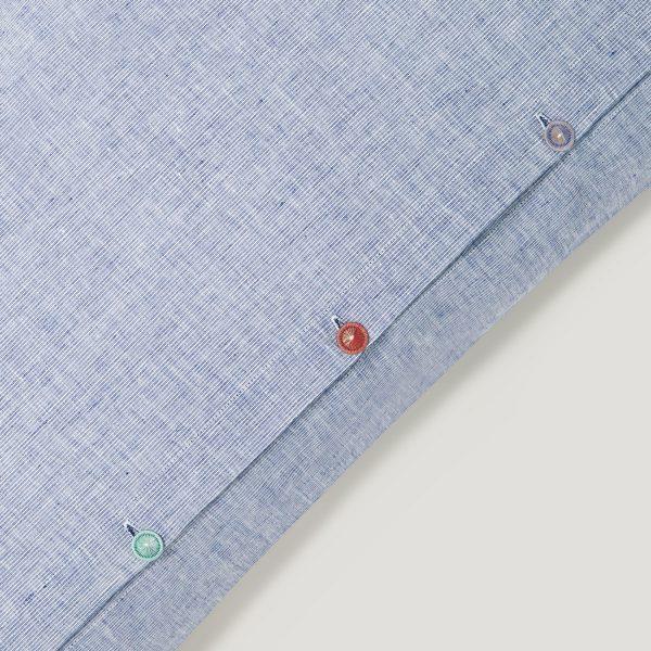 INN linen duvet cover blue