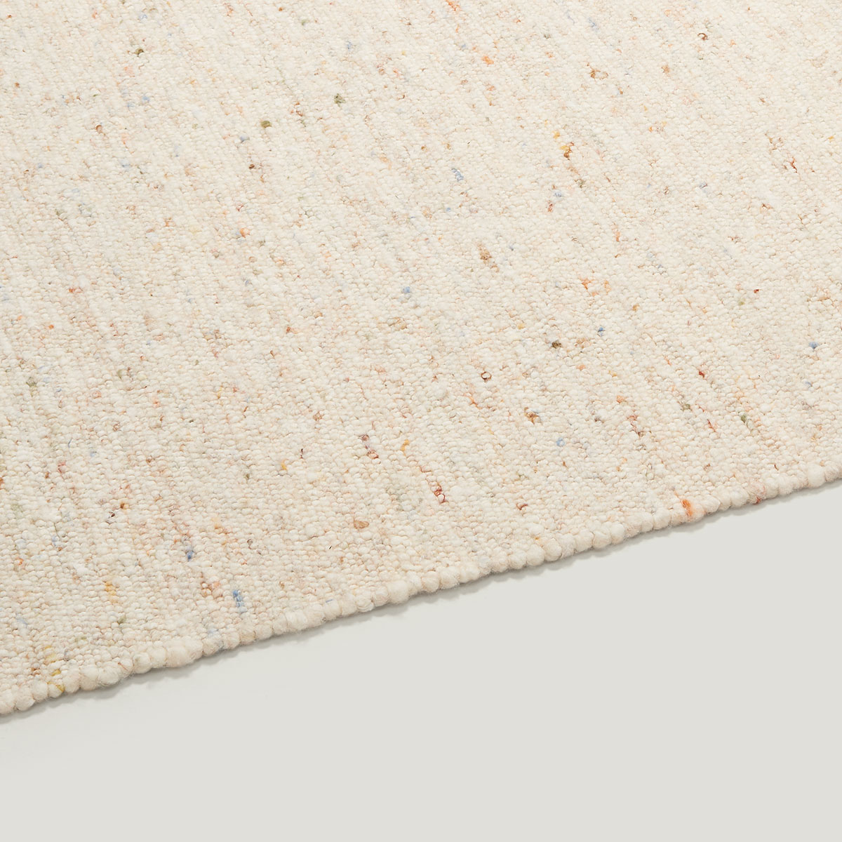 ONN wool rug multi natural