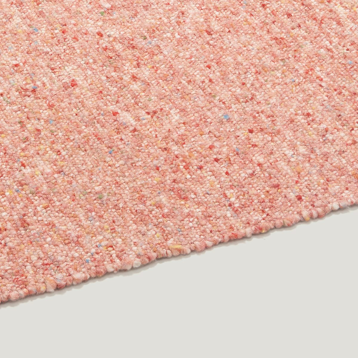 ONN wool rug multi red