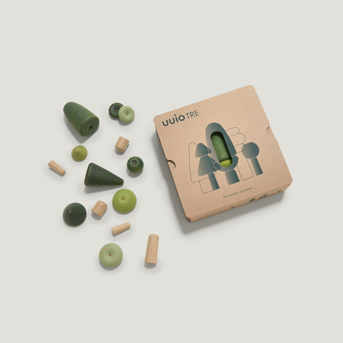 TRE wooden toy packaging